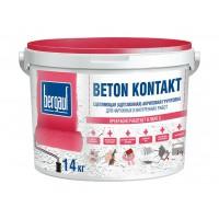 Бергауф грунтовка адгезионная акриловая  14 кг  Bergauf Beton Kontakt