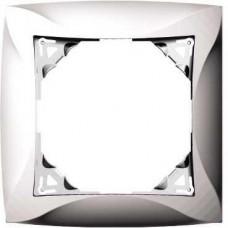 Дуэт - рамка - 1 пост - белый WDE000101