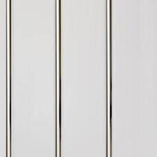 Стен.панель трёхполосная Луиза золото лак, 3 м.(10...