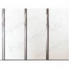 Стен.панель трёхполосная Луиза серебро лак, 3 м.(1...