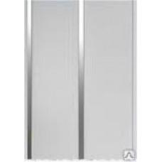 Стен.панель двухполосная Луиза серебро лак, 3 м.(1...