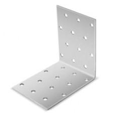 Билар KUR-100х100 Крепежный уголок оцинкованный равносторонний 100х100х100х2,0 мм (упак 50 шт)