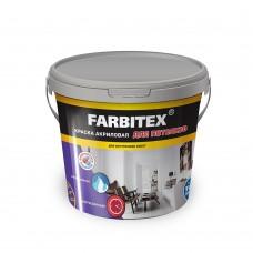 Краска акриловая для потолков (3кг) FARBITEX...