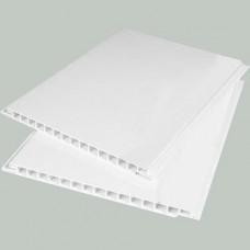 Панель ПВХ Белая лакированная 0,25 2,7м (10шт)