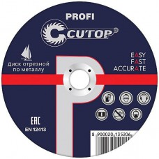 Cutop 39980т Профессиональный диск отрезной по мет...
