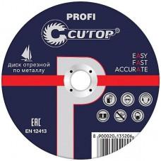 Cutop 39991т Профессиональный диск отрезной по мет...