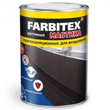Мастика битумная гидроизоляционная FARBITEX  4 кг ...