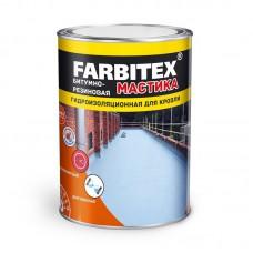 Мастика битумно - резиновая FARBITEX  2 кг  430000...