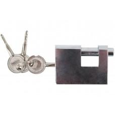 FIT 67095 Замок навесной, 3 крестовых ключа, хром ...