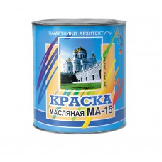 Краска масляная Олеколор МА-15 черный 6 кг