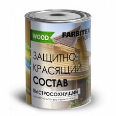 FARBITEX ПРОФИ Состав защитно-красящий быстросохнущий бесцветный 0.8 л