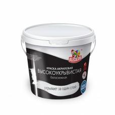 Краска акриловая декоративная фактурная 15 кг OLECOLOR