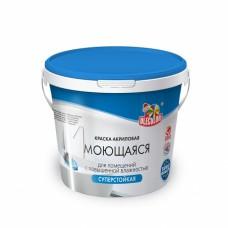 Краска в/д моющаяся  (3 кг) OLECOLOR