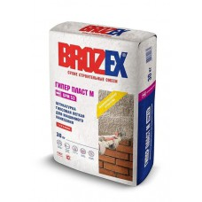 БРОЗЕКС Штукатурка гипсовая для ручного и машинного нанесения BROZEX GPM 51 30кг(40шт )****