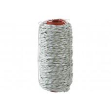 50220-06 Фал плетёный 6мм капроновый СИБИН 16-прядный с капроновым сердечником ,диам(100м) 650кгс
