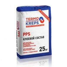 Крепс Клей для пенополистерола TERMOKREPS  PPS(25кг) (56)