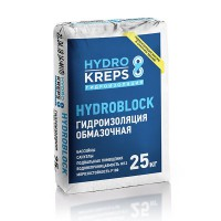 Крепс Гидроизооляция обмазочная HYDROBLOCK 25 кг...