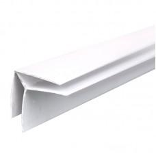 Угол для панелей внутренний пластик белый 1/30шт