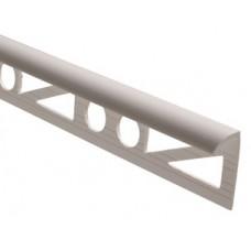 Угол для плитки  №7-8 наружний белый  1/50шт