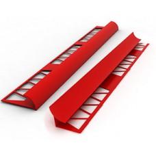 #Угол для плитки Атлас № 9 наружний (красный)